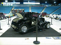 HOT ROD 1931 Ford 5 Window Coupe, Steel body