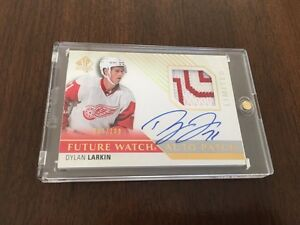 Dylan Larkin - Future Watch - Patch Auto RC Hockey card 007/100
