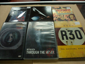 Dvd Bluray Spectacles et Music videos