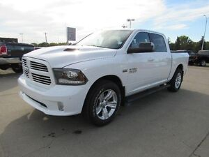 2014 RAM 1500 SportLeather, Sunroof, One Owner