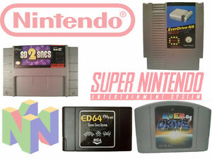 NOUVEAU ED64Plus & Everdrive 64 & sd2snes & Cleverdrive