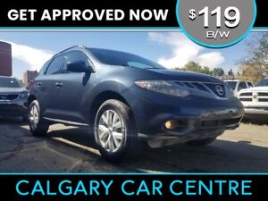 2012 Murano $119B/W TEXT US FOR EASY FINANCING! 587-582-2859
