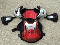 Dirt Bike / ATV Chest protector (Red)