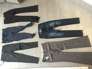 PANTS - aritzia BCBG marciano Burberry Bebe guess joes jeans