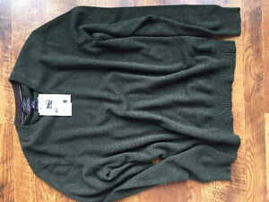 Black Brown 1826 100% Cashmere Sweater
