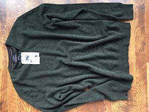 Black Brown 1826 100% Cashmere Sweater London Ontario image 1