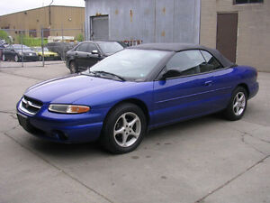 1998 Chrysler Sebring CONVERTIBLE -CHEAP SUMMER FUN!