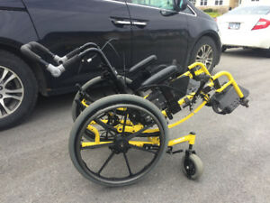 Invacare Spree 3G Tilt-in-Space Wheelchair