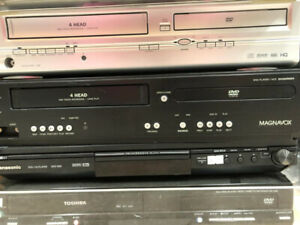 VCR AND DVD/VCR COMBO