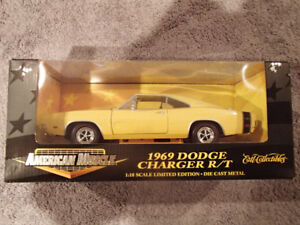 1:18 SCALE DIE-CAST AMERICAN MUSCLE 1969 DODGE CHARGER R/T  Y2