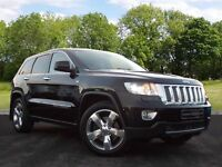 Jeep Grand Cherokee 3.0 CRD V6 Overland Summit Station Wagon 4x4 5dr (black) 2012