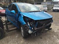 2012 Peugeot 207, being sold as spares or repair due to damage unrecorded no insurance