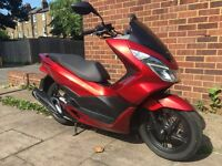 Honda PCX 125 2015 low miles for sale £1999