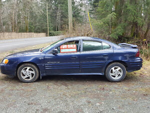 2000 Pontiac Grand Am Base Sedan