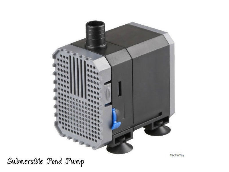 Select a pond pump suitable for your pond size and setup