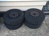 Tyres for Volkswagen Golf 2005 5 stud standard wheels 195 65 R15