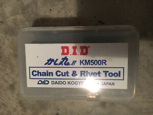 D.I.D KM500 Motorcycle Chain Cutting and Riveting Tool