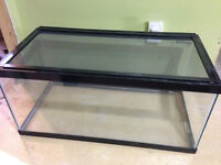 40 Gallon Reptile Terrarium, w/sliding screen lid