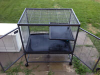 Cage for larger mammals (Ferrets, Chinchillas, etc.)