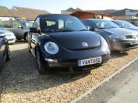 Volkswagen Beetle Cabriolet TDi WAS £4750 NOW DIESEL MANUAL 2006/56