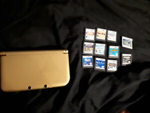 Legend of Zelda 3DS XL + 10 games and charger