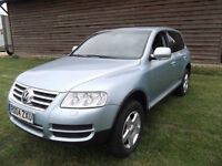 2004 LHD VW TOUAREG 3.2 V6 SPORT HIGH SPEC LEFT HAND DRIVE OWNED BY CELEBRITY