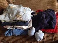 Baby boy winter clothes bundle 6-9 months