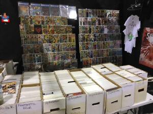 MASSIVE COMIC BOOK COLLECTION FOR SALE THIS WEEKEND!