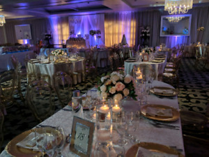 Wedding decoratikn for rent: free stuff is given