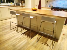 3x IKEA Sebastian Bar Stools