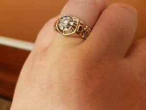 Special price - pickup today Rolex Style Gold Ring