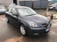 2008 Mazda 3 1.6 Takara Hatchback *1 Keeper* Air Con, Alloys, 12 Month Mot, 3 Month Warranty