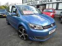 2012 Volkswagen Touran 1.6TDI S - Blue - Diesel + Platinum Warranty!