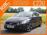 2011 Volvo V60 2.4 D5 Turbo Diesel 200 BHP R Design Geartronic 6 Speed Auto Esta