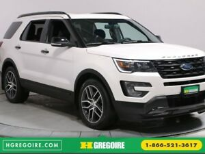 2017 Ford Explorer Sport BLUETOOTH CAMERA RECUL CUIR NAV TOIT HA