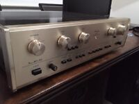 ACCUPHASE E203 vintage high end amplifier , Very rare.