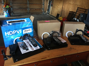 PVR and 2 HD Boxes