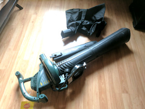 Leaf vacuum and blower Yardworks 12amp electric