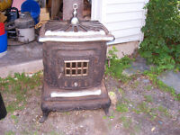 Cast Iron Stove - Great Decorative Piece or Outdoor Fireplace A