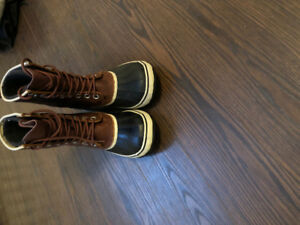 "New Sorel Premium leather ""1964"" winter boots in size 7.5!"