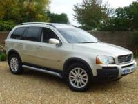 2006 06, Volvo XC90 2.4 D5 AWD 185 Geartronic Executive + 1 PREVIOUS OWNER