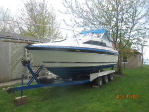1986 Bayliner Cierra Sunbridge Model 2550 Designer Edition