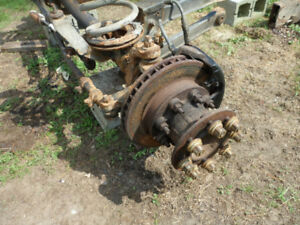 5200 lbs. Front Axle - - From a 97 Dodge Diesel 1 Ton Dually
