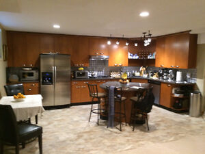 Beautiful, Clean 2 Bedroom  Furnished Basement Suite Calgary SW