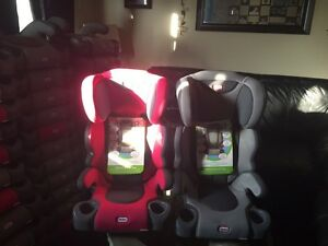 Brand new booster seats gray or pink price is firm