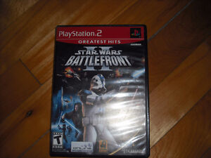 Star Wars Battlefront 2 Playstation 2 Complet