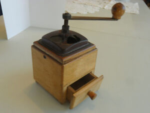 ANTIQUE COFFEE MILL HAND-GRINDER for collector. Or? 416-483-1730