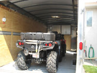 2012 CARRY ON UTILITY CARGO TRAILER