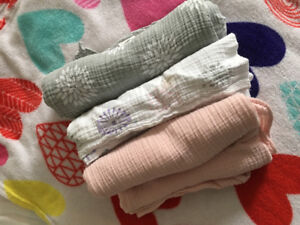 Adais and Ani Muslin Swaddle clothes
