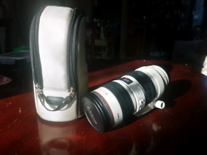 Canon 70-200mm F2.8 L IS USM LENS